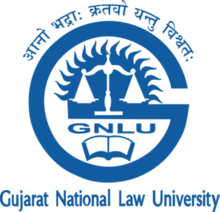 Gujarat National Law University Logo.png