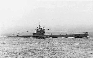 HMS H47 - Image: H47 submarine