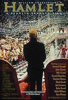 <i>Hamlet</i> (1996 film) 1996 film by Kenneth Branagh
