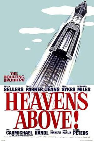 Heavens Above! - Image: Heavens Above! movie poster