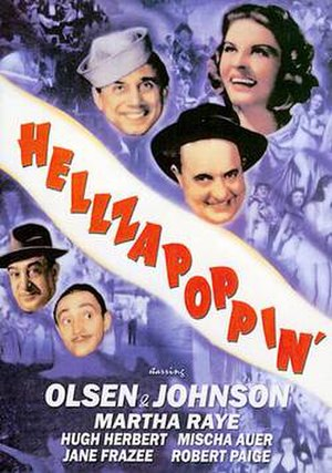 Hellzapoppin' (film) - Film poster