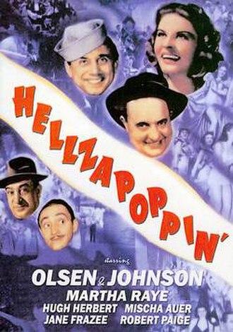 Hellzapoppin' (film) - Film poster