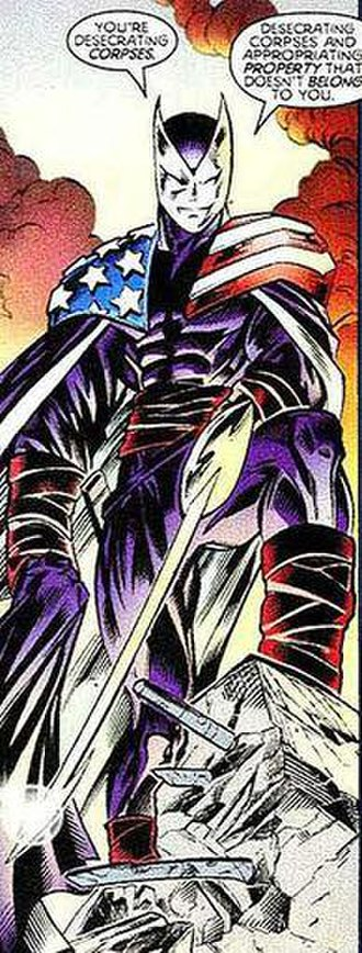 Helmut Zemo - Helmut Zemo as Citizen V. Art by Mark Bagley.