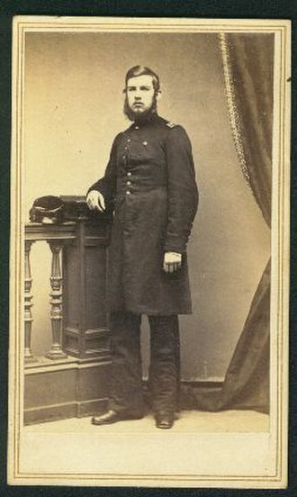 Henry Elijah Alvord - Henry Alvord while serving with the Second Massachusetts Cavalry