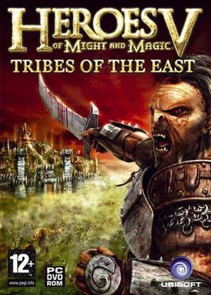 Heroes of Might and Magic V: Tribes of the East - Image: Heroes of Might and Magic V Tribes of the East cover
