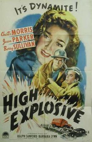High Explosive (film) - Theatrical release poster