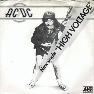 High Voltage (song) - Image: Highvoltagesingle