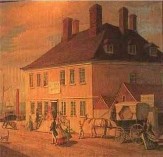 Robert Holmes (Royal Navy officer) - Holmes's house in Yarmouth
