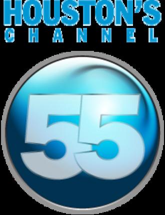 """KTBU - Former """"Houston's 55"""" logo."""