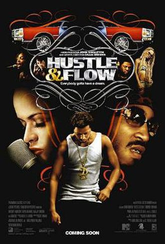 Hustle & Flow - Theatrical release poster
