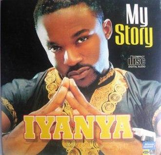"""My Story (Iyanya album) - Image: Iyanya's """"My Story"""" album cover"""