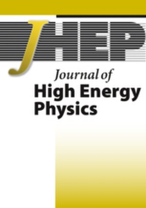 Journal of High Energy Physics - Image: JHEP webcover