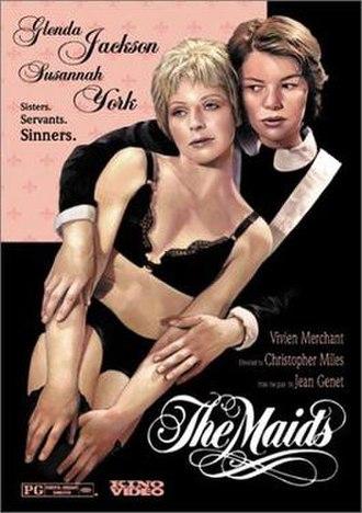 The Maids (film) - Image: Jackson York Poster Maids
