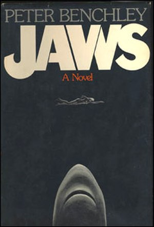 Jaws (novel) - Cover of the first hardcover edition