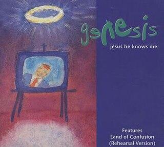 Jesus He Knows Me 1992 single by Genesis