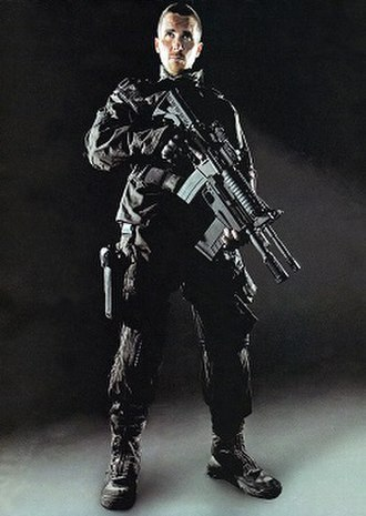 John Connor - Christian Bale as John Connor in Terminator Salvation