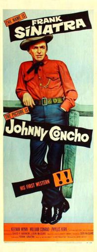 Johnny Concho - Image: Johnny Concho Film Poster