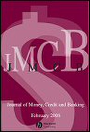 Journal of Money, Credit and Banking - Image: Journal of Money, Credit and Banking
