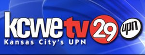 KCWE - KCWE's second logo as a UPN affiliate, used from September 2002 until September 2006.
