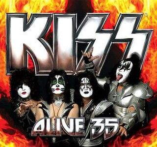 <i>Kiss Alive 35</i> live album by Kiss