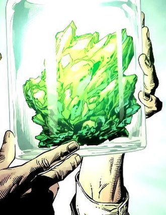 Kryptonite - Green kryptonite: art by Gary Frank.