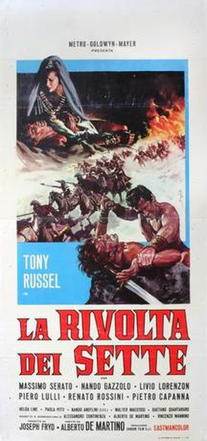 Gladiators Seven - Image: La rivolta dei sette italian movie poster md