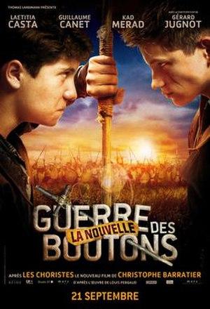 War of the Buttons (2011 Christophe Barratier film) - Film poster