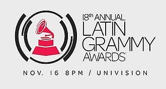18th Annual Latin Grammy Awards - Image: Latin Grammy Awards 2017