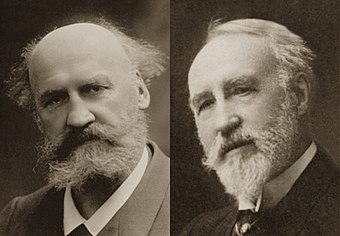 Charles Lenepveu (left) and Theodore Dubois of the Paris Conservatoire Lenepveu-Dubois.jpg