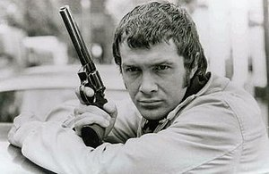 "Lewis Collins - Lewis Collins as ""Bodie"" in The Professionals"