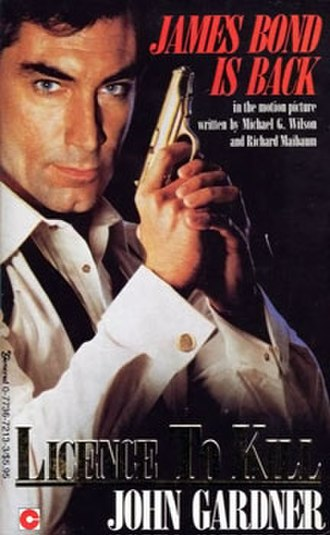 Licence to Kill - Image: Licence To Kill Novel