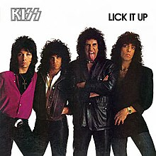 Kiss lick it up tour