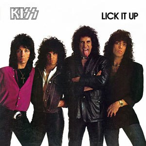 Lick It Up - Image: Lick it up cover