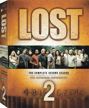 Lost (season 2) - Image: Lost S2 DVD