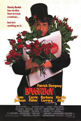 Loverboy (1989 film) - Loverboy theatrical poster