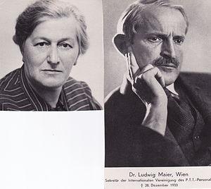 Ruth Maier - Ruth Maier's parents