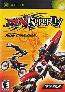 <i>MX Superfly</i> 2002 video game