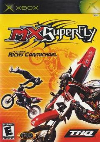 MX Superfly - North American Xbox cover art.
