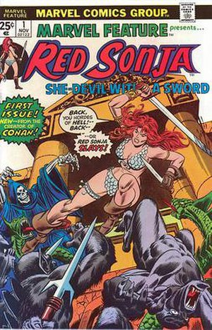 Red Sonja - Image: Marvel Feature 1 (1975)