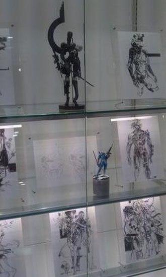 Metal Gear Rising: Revengeance - Concept art on display at the Art of Yoji Shinkawa exhibit in 2011
