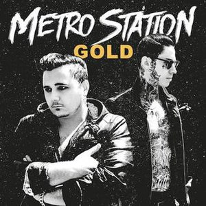 Gold (Metro Station EP) - Image: Metro Station Gold EP Cover