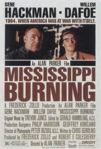 Mississippi Burning - Theatrical release poster