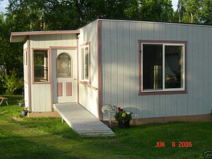 Modular building - Modular home in Sutton, Alaska