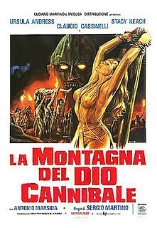 <i>The Mountain of the Cannibal God</i> 1978 film by Sergio Martino