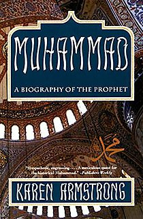 <i>Muhammad: A Biography of the Prophet</i> book by Karen Armstrong