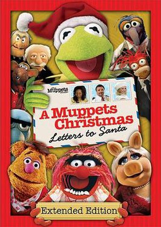A Muppets Christmas: Letters to Santa - DVD cover