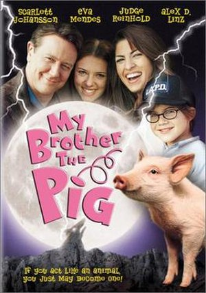 My Brother the Pig - Theatrical release poster