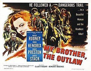 My Outlaw Brother - Theatrical release poster