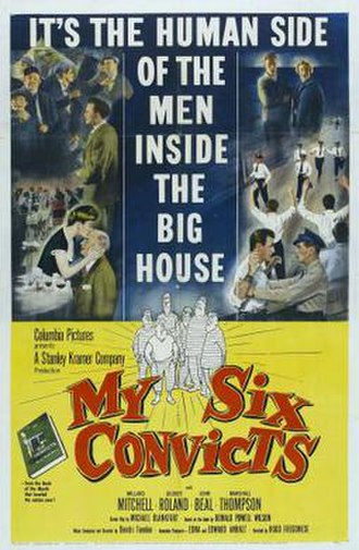 My Six Convicts - Image: My Six Convicts Film Poster