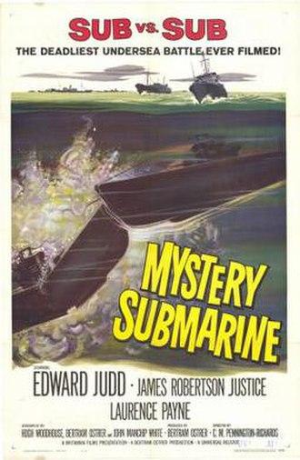 Mystery Submarine (1963 film) - Image: Mystery Submarine Film Poster